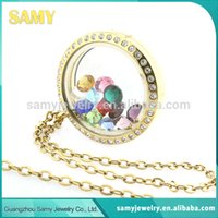 Cheap wholesale glass locket Best glass locket pendant