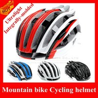 Wholesale Hot Sale Professional Ultralight Integrally molded EPS Bicycle Helmet Outdoor Sport Mountain Bike Cycle MTB Helmet Bicycle parts