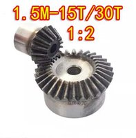 Wholesale 1 ratio M T T Degree precision gear drive bevel gear M teeth with teeth set
