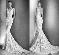 Wholesale Sexy Chinese Backless Luxury Lace Wedding Dresses Mermaid Wedding Gowns Beads