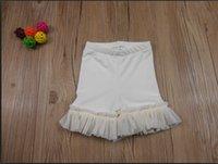 ruffle panties - Girls Shorts Ruffle Shorts Cream Ruffle Shorts Kids Elastic Girls Short Panties Baby Ruffle Pants