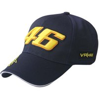 racing sports caps - Free shiping Rossi Embroidery Baseball Cap Hats Motorcycle Racing Cap VR46 Sport Baseball Caps For Men Women