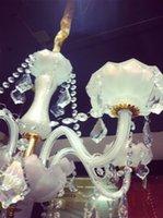 Wholesale Direct modern crystal droplight sitting room dining room european style luxury K9 head crystal lamp
