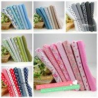 Wholesale NEW Sets cmx50cm Cotton Fabric Fat Quarters Bundle Quilting Patchwork sewing fabric for Tilda