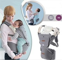 stools - 2015 Korean Newborn Infant Baby Carrier Multi fonction Waist Stool Baby Sling Front Facing Baby s Backpack Babies Supplies Black Gray K3908
