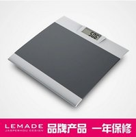 bathroom scales silver - Intelligent lemade health said weight scale human scale thin slammed silver