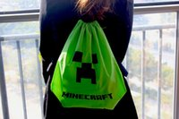 draw string bag - Minecraft TOY MINECRAFT bag Minecraft backpack Minecraft Draw String Backpack Sling Bag Good Quality in stock Same Day Shipping