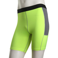 Wholesale Men s winter outdoor sports fitness running shorts perspiration wicking tight pants shorts size S XL23 XYQ