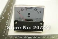 Оптово-1 PCS Аналоговый Вольт Напряжение Вольтметр метр панели DC 0-250V *