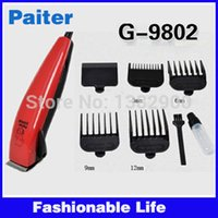 adapter hair clipper - New Arrival Professional Paiter Electric Pet Dog Hair Clipper Trimmer Shaver for Pets Animals Grooming EU Adapter