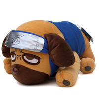 animations dog - Children s toys Plush toys animation around Naruto Kakashi genuine Parker dog dog Naruto shipping