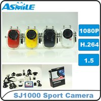 Wholesale Mini HD H Full P Outdoor Sports Action DV Camera HD Video Recorder SJ1000