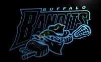 bandit signs - LD171 TM Buffalo Bandits NLL Lacrosse Neon Light Sign Advertising led panel
