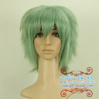 average size dog - gt gt gt Blame the dog blood Akira celadon Short Cosplay Wig Hair