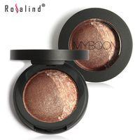 baking textures - Rosalind MYBOON MYBOON Dou Eye Shadow Baked Eyeshadow Two Shade in a Palette Baked Eye Shadow Ultra fine Mineral Texture