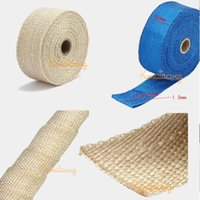Wholesale 10m Cloth Fahrenheit Fireproof Increase Horsepower Super Racing Tape Header Engine Pipe Cool Exhaust Insulating Wrap
