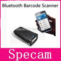 Wholesale Portable CT20 Wireless Bluetooth Bar Code Barcode Scanner reader for iPhone tablet PC pad IOS Android Window