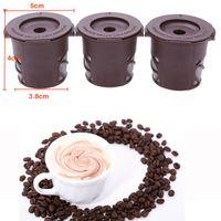 Wholesale 300pcs sets Nespresso Capsule Pieces set New Novelty Convenient Clever Capsule Reusable Single Plastic Coffee Filter Mesh Cup