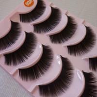 Wholesale Long Thick False Eyelashes Professional Makeup Soft Natural Fake Eye Lashes Elongated Eye End False Eye Lashes cm cm