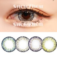Wholesale 1pair new Gold colors very sexy color contact lenses DHL shipping Recognized comsmetic contact lenses