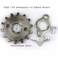 Wholesale Motorcycle ATV Dirtbike Front Sprocket T mm Size Teeth For Cheap Sale