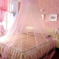 Wholesale Round Dome Lace Mosquito Net Anti Mosquito Fly Indoor Insect Bed Canopy Mesh Curtain Summer Home Bedding Decor Accessories