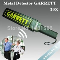 Wholesale Popular pinpoint hand held metal detecctor Gareett Super scanner