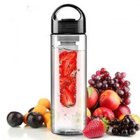 bars centres - Tritan Plastic Fruit Juice Infuser Bottle Outdoor Sports Infusing Water Bottles ml Lemon Cup BPA Free Eco Friendly Drinkware Kitchen Bar
