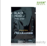 best pore mask - Best PILATEN Suction Black Mask Face Care Mask Deep Cleaning Tearing Style Pore Strip Deep Cleansing Nose Acne Blackhead Facial Mask g