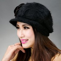Wholesale Women s Casual Hat With Flowers High Quality Fashion Mink Cashmere Hat Z