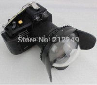 Wholesale M67 mm Fisheye Fish eye Wide Angle Lens Dome Port Cover diving for Underwater Photography Diving Waterproof housing