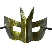 antiques direct - Factory direct sale masks Halloween supplies props vintage jazz dance party mask half face mask antique mask scissors Men