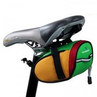 basket backpack - Newest MTB Cycling Seat Bag Road Bicycle Bike Saddle Bag Basket Seat Post Bag Accessories for Bike Bicycle Backpack