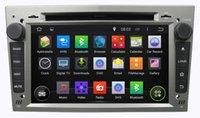 "7 ""capacitiva de DVD para el coche Opel Astra H Vectra Corsa Zafira con Pure Android 4.4 Dual Core 3G WIFI GPS Navigation Radio"
