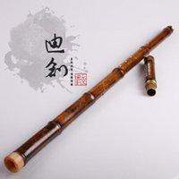 bamboo flute making - senior copper purple bamboo flute Musical Instruments of the former wei dong tao made by