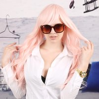 Wholesale Fashion Women Synthetic Color Wig Wavy Inch