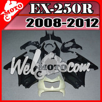 Wholesale In Stock Welmotocom Injection Mold Unpainted Unpolished Fairings For Kawasaki EX R EX250R EX R K25W00
