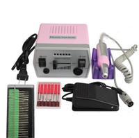 Wholesale Nail Drill Professional Electric Manicure Machine Nail Art Tool Drill File Kit Set V V Pedicure Polish Shape