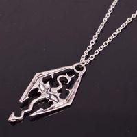 american memorabilia - 20pcs Elder Scrolls Inspired Skyrim Necklace Game Memorabilia Fan Item Novelty Fashion Wear Jewelry