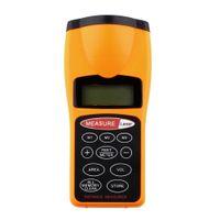 Wholesale 1 Hot Wolrdwide CP Ultrasonic Distance Measure Laser Point Rangefinder LCD backlight