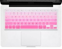 Wholesale Rainbow Colors Silicone Keyboard Protector Cover Skin Crystal For MacBook Pro Air Retina inch Waterproof Dustproof US Version Sample