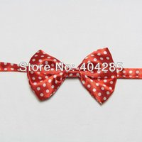 Wholesale Pattern Dogs Bow tie Pet Neckties