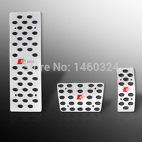 Wholesale Aluminium Alloy accelerator pedal brake pedal AT Foot Pedals Rest FOR A4 B6 B7 B8 A5 A6 C5 C6 C7 A7 A8 Q5