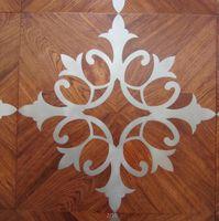 Wholesale Copper wood floor Mosaic floor Combination floor High end custom floor Design House floor Jade inlaid wood floor Shell floor Floor finishes