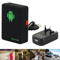 auto security devices - Mini A8 Car GSM Tracker Global Real Time Bands GSM GPRS Security Auto Tracking Device Support Android For Children Pet Vehicle