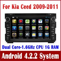 dvd audio - Android Head Unit Car DVD Player GPS Navigation for KIA CEED with Radio BT TV USB SD MP3 Audio G WIFI Capacitive Screen