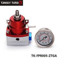 Wholesale TANSKY Adjustable PSI Fuel Pressure Regulator NPT Gauge Injected Bypass For Honda BMW Toyota TK FPR005 ZTGA