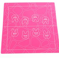 Wholesale Hot Selling Colorful Design Soft Silicone Cake Decoration Mats For Homemade DIY Cake
