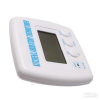 Wholesale White Digital LCD Timer Thermometer Alarm Cooking Kitchen BBQ Food Digital Temperature Timer Y70 DA0928 M5