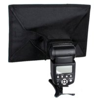 flash light diffuser - 20 X30cm Flash Softbox Lambed Diffusers Box Flash Diffuser Light Soft Box For Photography light box for drawing